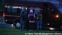 Belarus Protest Polizei Minsk