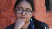 DW Urdu Blogerin Fatima Shaikh