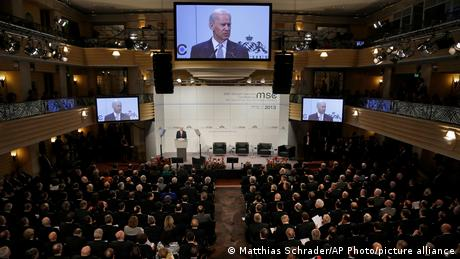 Joe Biden addresses the 2013 Munich Security Conference