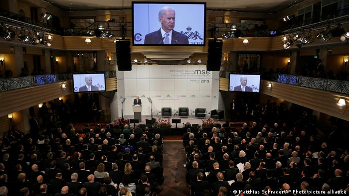 Joe Biden addresses the 2013 Munich Security Conference