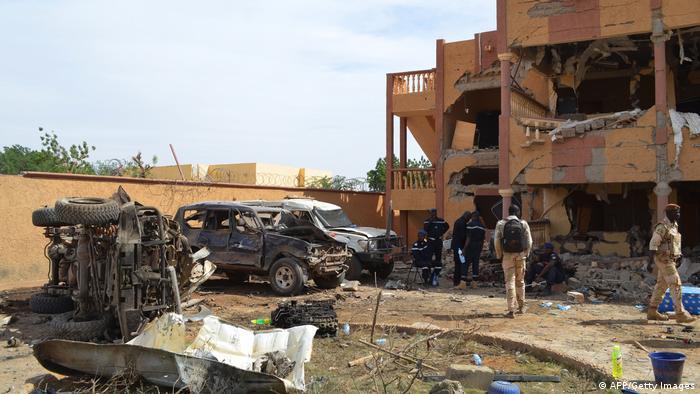 Afrika Mali Unruhen Terror