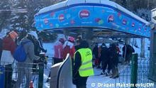 Skizentrum Jahorina bei Sarajevo, Bosnien Herzegowina