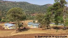 Äthiopien neue Schule in Gedeo