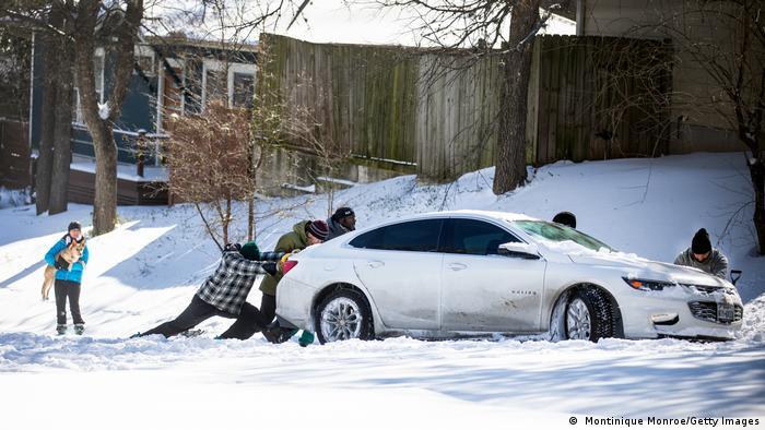 Una tormenta de frío polar se produjo en Texas (EE.UU.) en febrero de 2021.