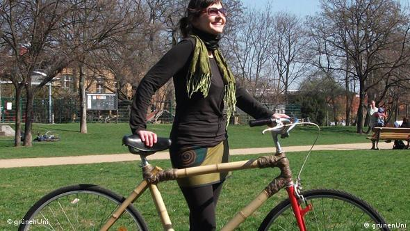 Bambusbike der GrünenUni Flash