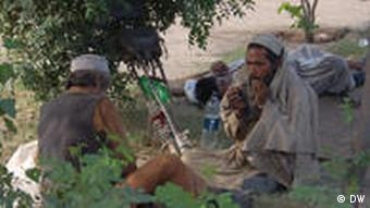 Drug addicted people in Pakistan's North west Khayber Pakhtoon khowa province's Capital Peshawar