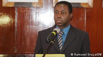 Sao Tome und Principe | Nationale Wahlkommission Fernando Maquengo