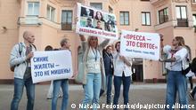 Weißrussland | Proteste | Pressefreiheit
