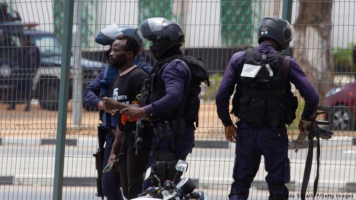 Angola | Proteste gegen Polizeigewalt in Luanda