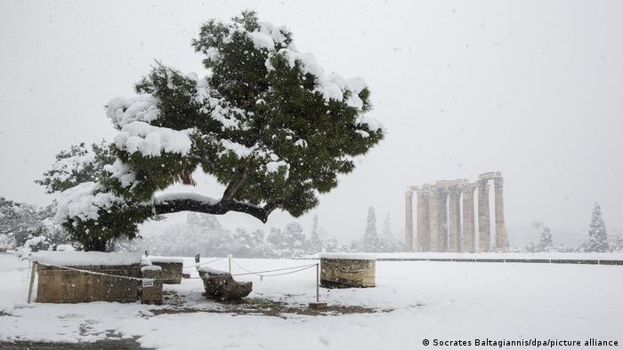 Griechenland | Winterwetter in Athen