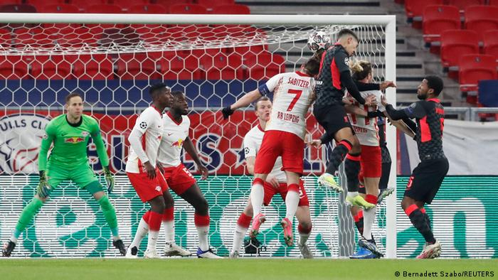 Fußball Champions League RB Leipzig - Liverpool
