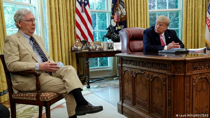 Washington White House Mitch McConnell U.S. Präsident Trump