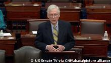 Washington Senat Mitch McConnell Impeachment Verfahren Trump