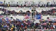 Washington Trump Anhänger stürmen Capitol