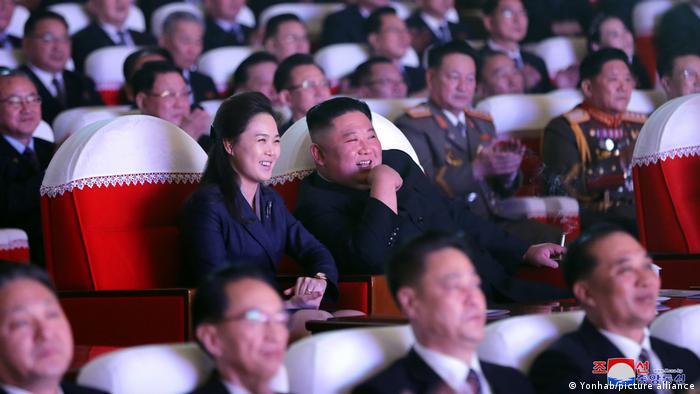Nordkorea Pjönjang Kim Jong-un Ehefrau Ri Sol-ju Mansudae Theater