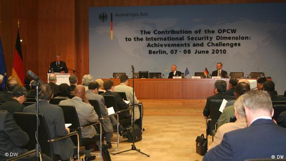 Internationale Konferenz der Organization für das Verbot chemischer Waffen (OVCW)