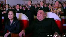 Weltspiegel 17.02.2021 | Nordkorea Pjöngjang |Kim Jong-un & Ehefrau Ri Sol Ju