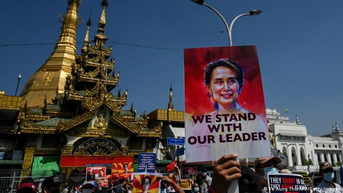 Weltspiegel 17.02.2021 | Myanmar Militärputsch | Protest