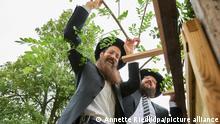 Beginn des siebentägigen jüdischen Laubhüttenfests