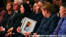 Hanau Anschlag 2020 |1. Jahrestag Rückblick |Gedenkgottesdienst 2020, Merkel & Angehörige