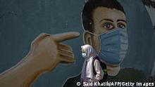 Gazastreifen | Coronavirus | Graffiti in Rafah