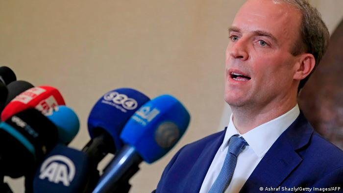UK Aussenminister Dominic Raab