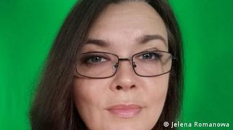Журналистка Новой газеты Елена Романова