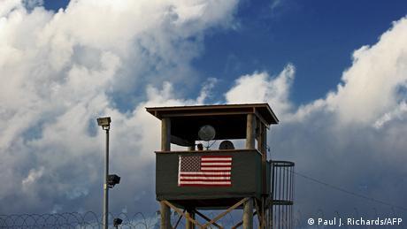 La prisión de Guantánamo, en Cuba.
