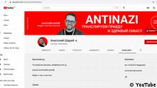 Ukraine Kiew | YouTube Kanal | Blogger Anatolii Sharii