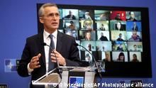 Belgien Treffen NATO-Verteidigungsminister digital | Jens Stoltenberg
