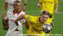 Fußball Champions League FC Sevilla - Borussia Dortmund Haaland