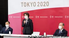 Japan Tokio | Seiko Hashimoto Präsidentin des Organisationskommitees der Olympischen Spiele in Tokio