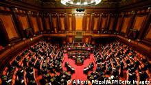 Weltspiegel 18.02.2021 | Italien Senat in Rom |Mario Draghi, Ministesrpräsident