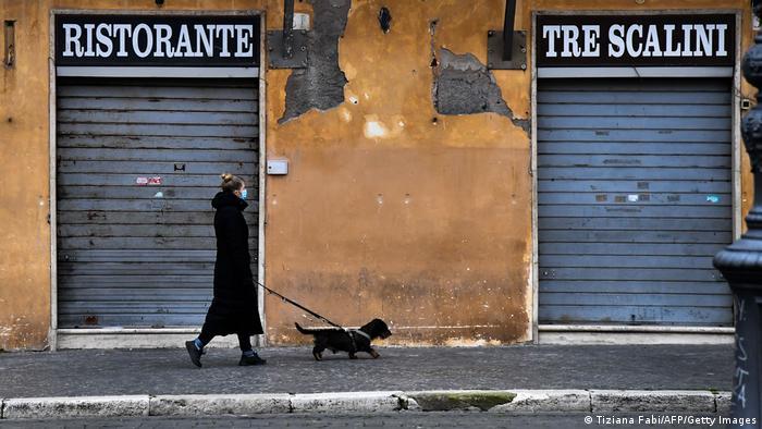 Weltspiegel 18.02.2021 | Corona |Italien Rom, Spaziergang