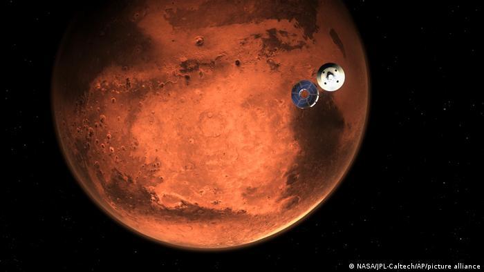 Mars-Sonde Perseverance