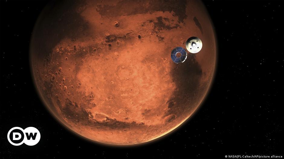 """Perseverance"" Mars'a iniyor"