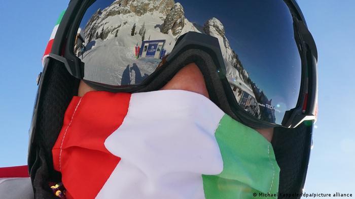 Iranian giant slalom competitor Marjan Kalhor Alpine World Ski Championships
