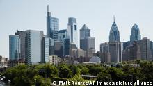 Philadelphia USA Stadt Ansicht