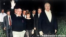 Gorbatschow und die Deutschen | Helmut Kohl und Michail Gorbatschow 1990