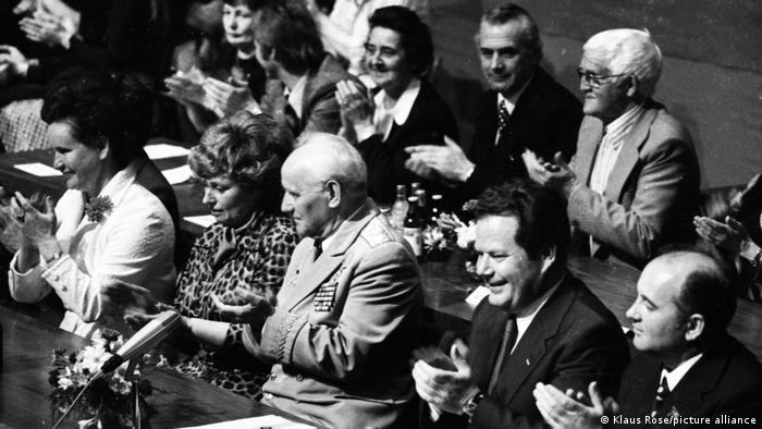Михаил Горбачев в Нюрнберге по приглашению Германской коммунистической партии (DKP), 1975 год