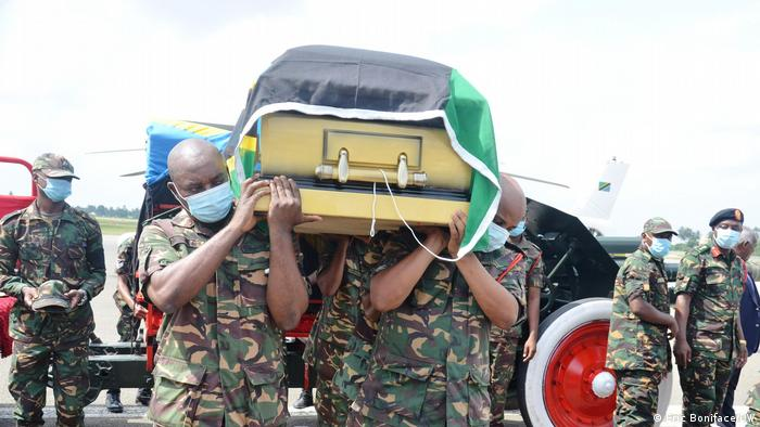 Tansania Dar es Salaam | Beerdigung von Maalim Seif Sharif Hamad