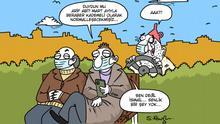 Türkei Karikatur Serkan Altuniğne | Teillockerungen Corona Maßnahmen