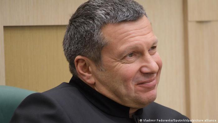 Российский телеведущий Владимир Соловьев