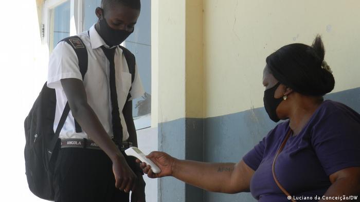 Mosambik | Inhambane | Coronavirus | Hygienemaßnahmen in Schulen
