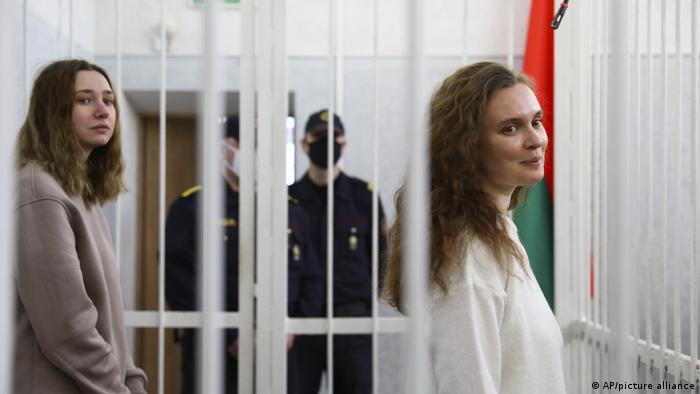 Belarus Journalisten Katsiaryna Andreyeva and Daria Chultsova