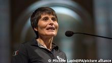 Italien Astronautin Samantha Cristoforetti