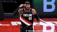 USA I NBA Orlando Magic in Portland I Carmelo Anthony