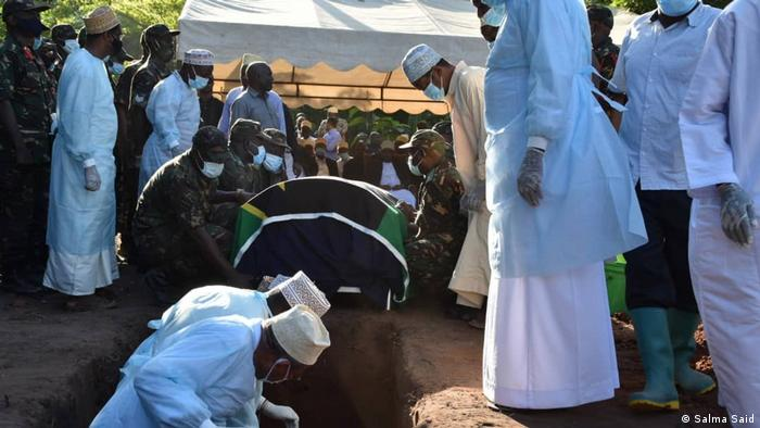Tansania | Beisetzung Maalim Seif Sharif Hamad in Pemba
