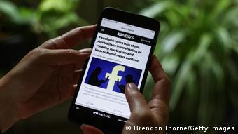 Το τηλεοπτικό δίκτυο ABC ενημερώνει για τον αποκλεισμό ειδησεογραφικού περιεχομένου στο Facebook