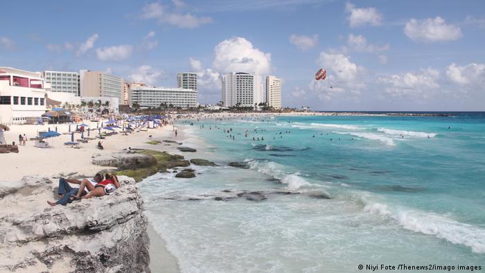 Mexiko Strand in Cancún